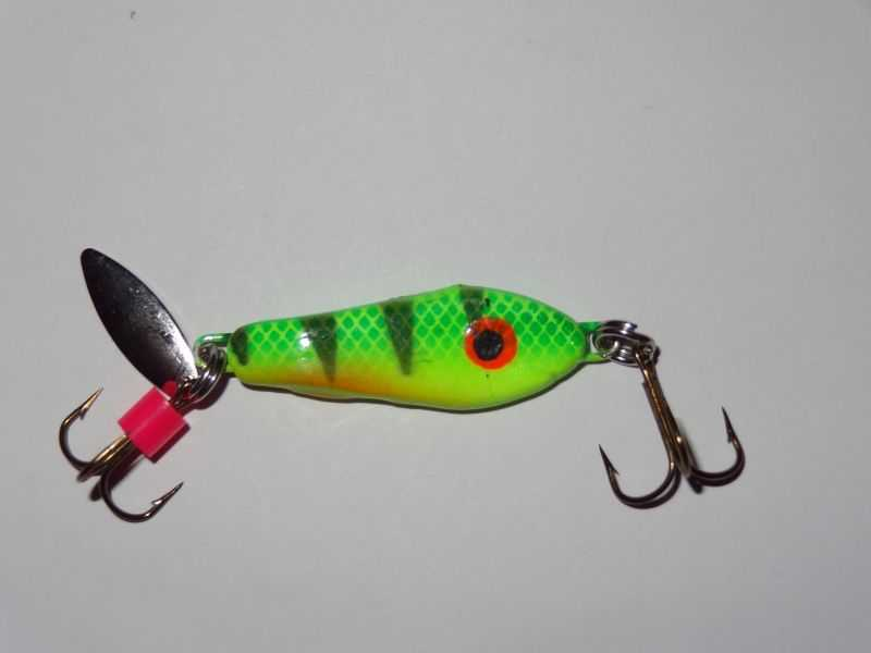 Blade bait, Fire Tiger body - 270