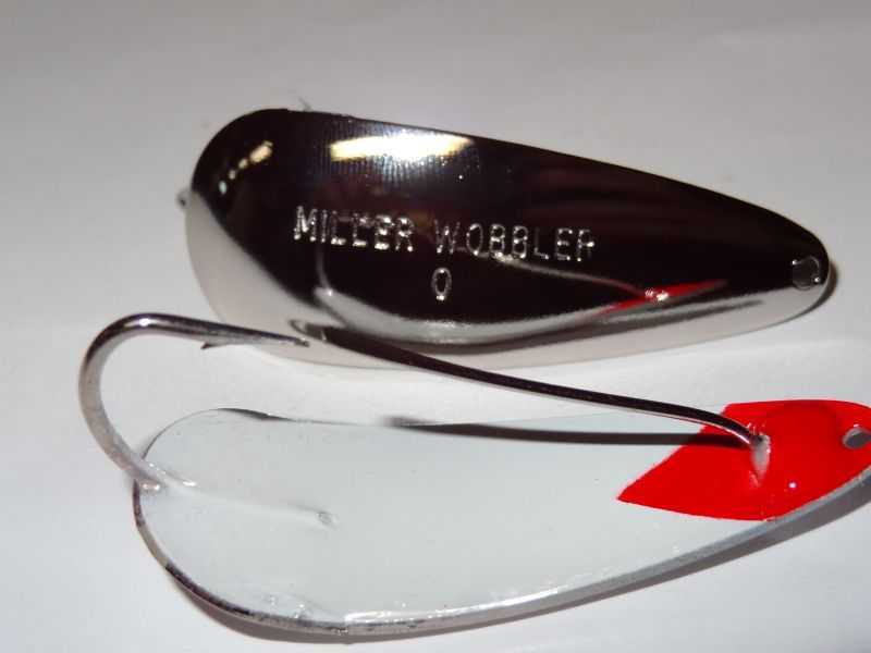 Nickel Plated Outside White and Red Inside - 8805